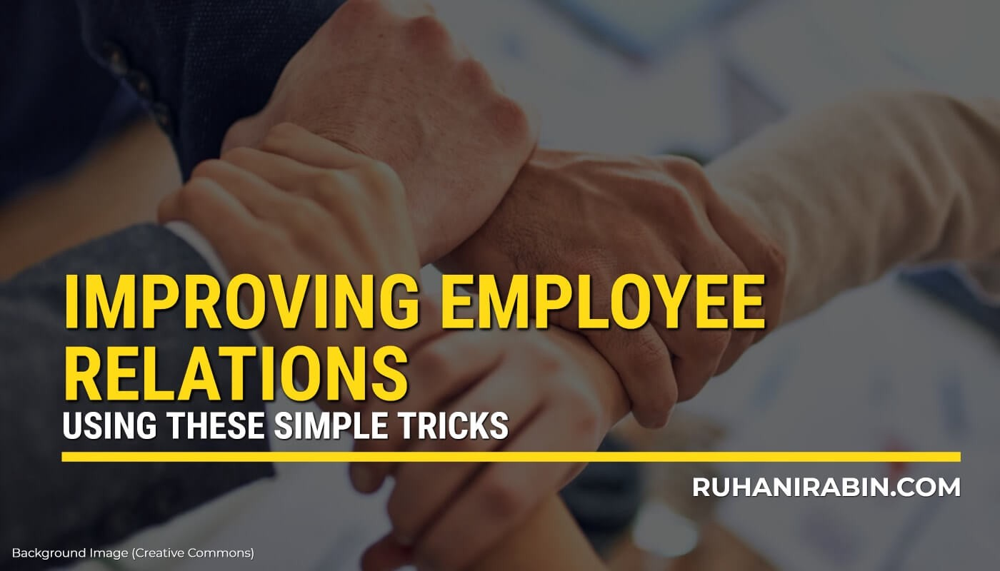 Secret Tricks to Improve Employee Relations Easily Featured Image