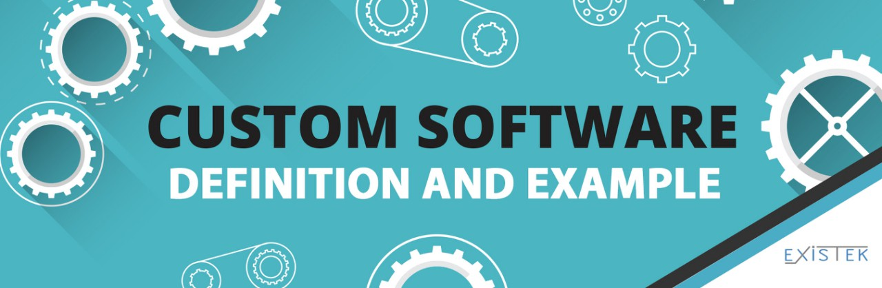 Custom Software Definition and Example - EXISTEK - Medium