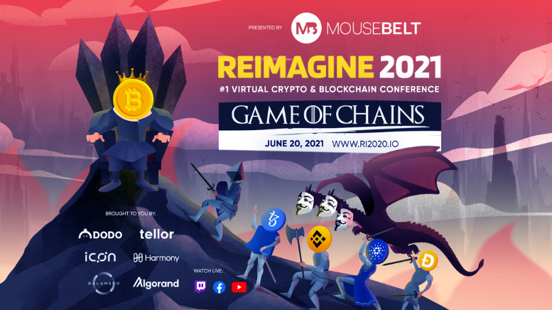 """REIMAGINE V9.0: """"Game of Chains"""" looks at future rulers of crypto"""