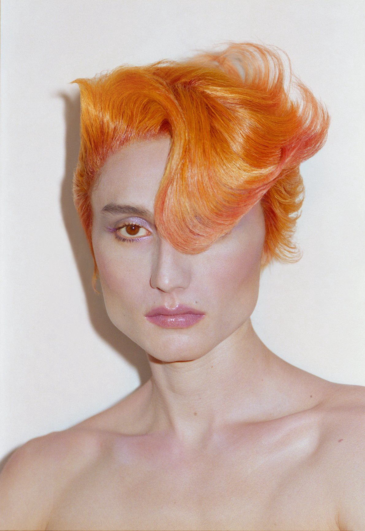 Japan-based wigmaker and hairstylist Tomihiro Kono's rainbow-colored creations demonstrate the power of wigs in influencing perceptions of a person's character. (Photo: Photo by Sayaka Maruyama, Wig: Tomihiro Kono, Makeup: Chiho Omae, Model: Cameron Lee Phan, The New Beauty)