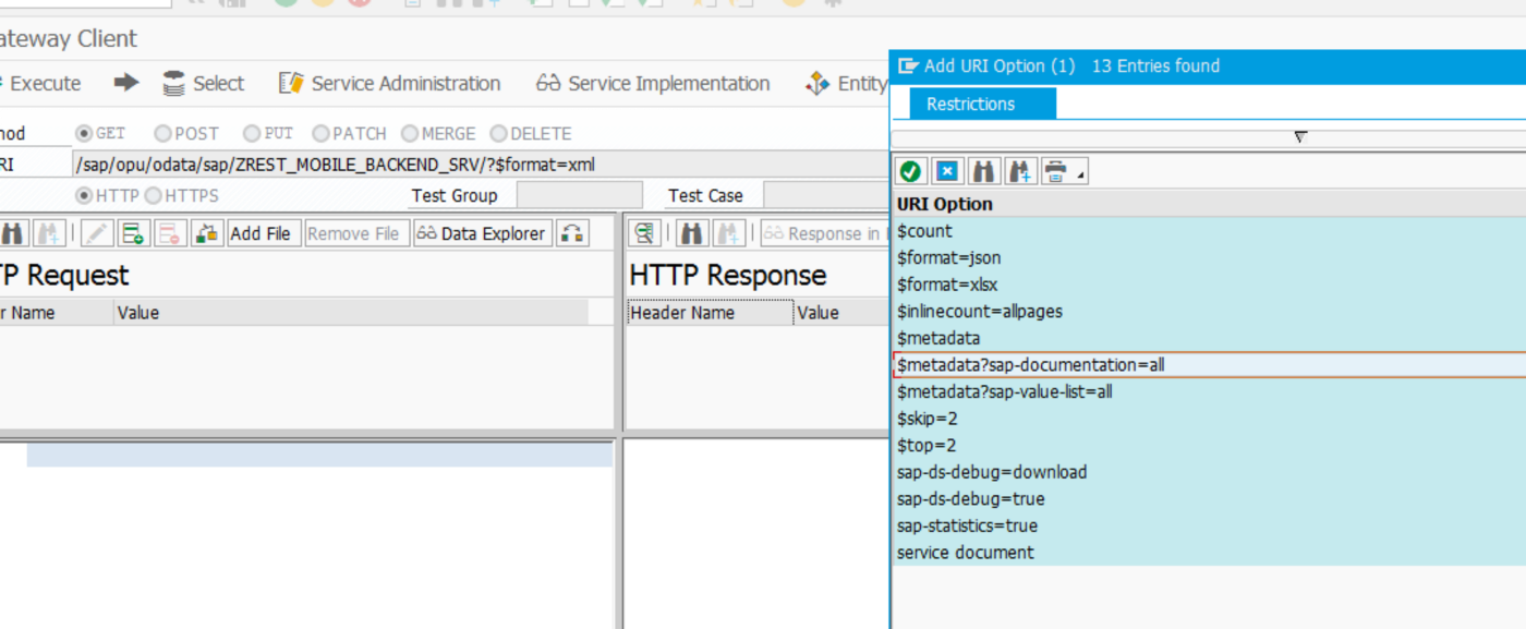 Fiori Backend ) Rest API Development With SAP Gateway — CRUDQ