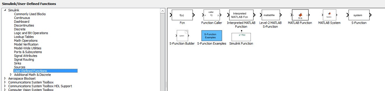 Simulink Model Examples