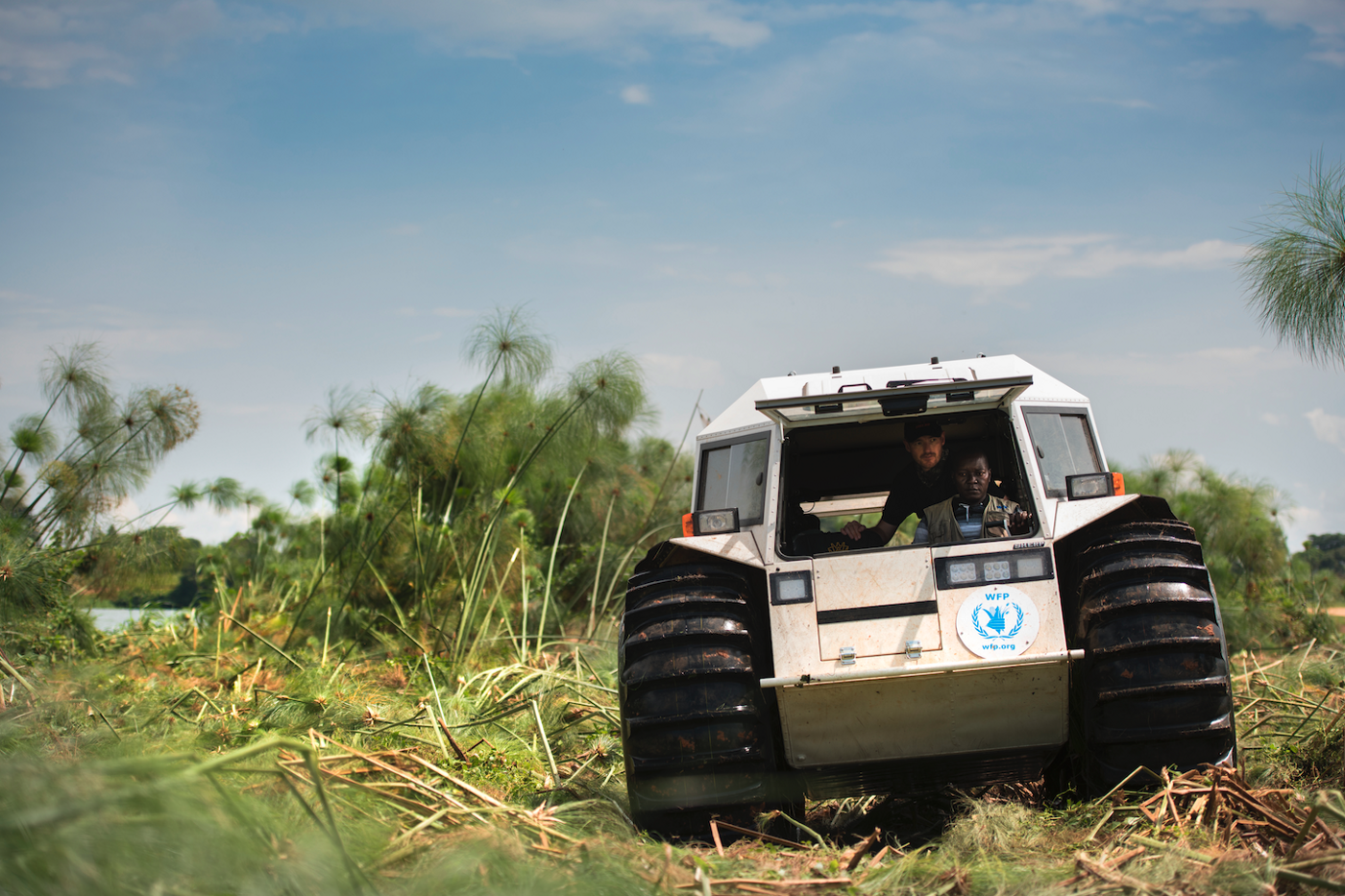 The sherp vehicle in action