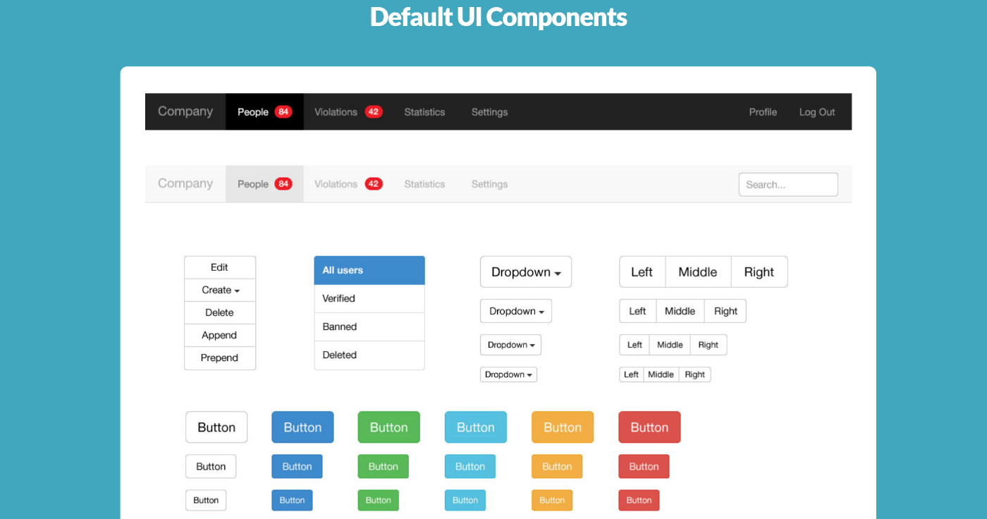 Top 15 Free Bootstrap UI Kits for 2019 to Help You Work Smarter
