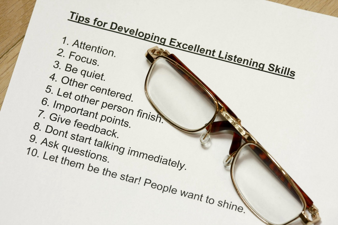 Active Listening How-To Guide