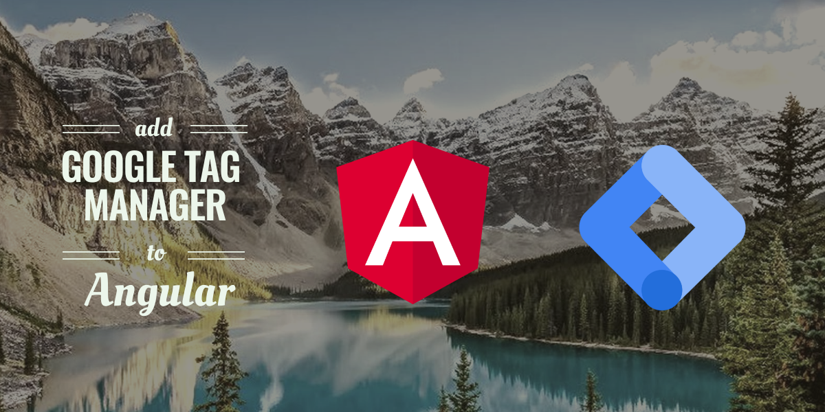 add google tag manager to angular application