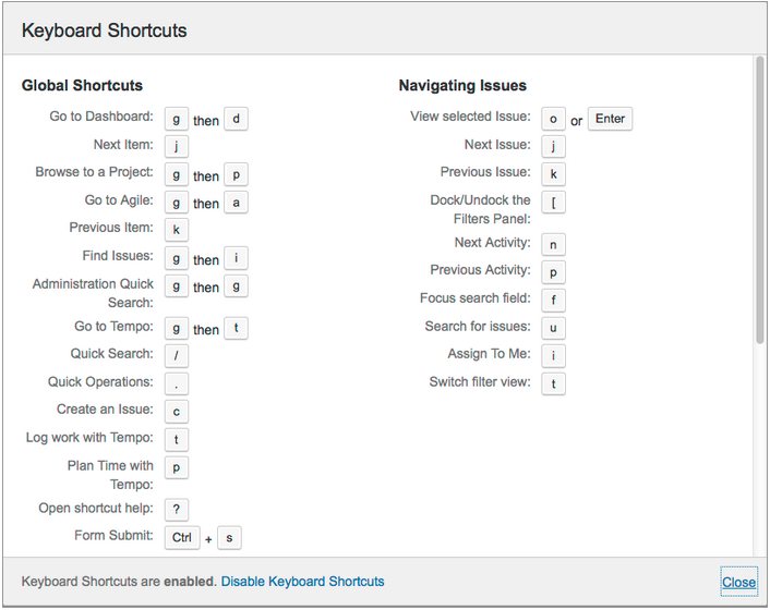 J, K, or How to choose keyboard shortcuts for web applications