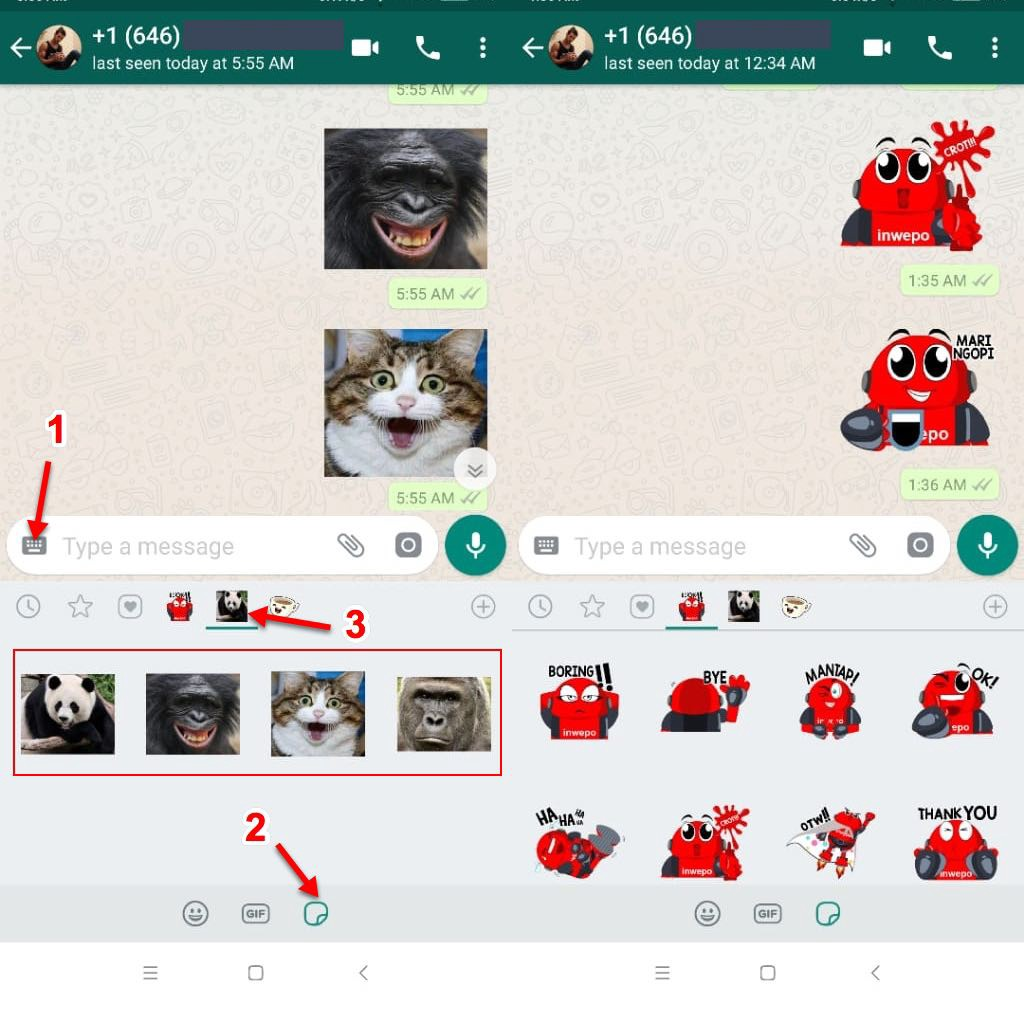 Make WhatsApp Stickers with Your Own Image