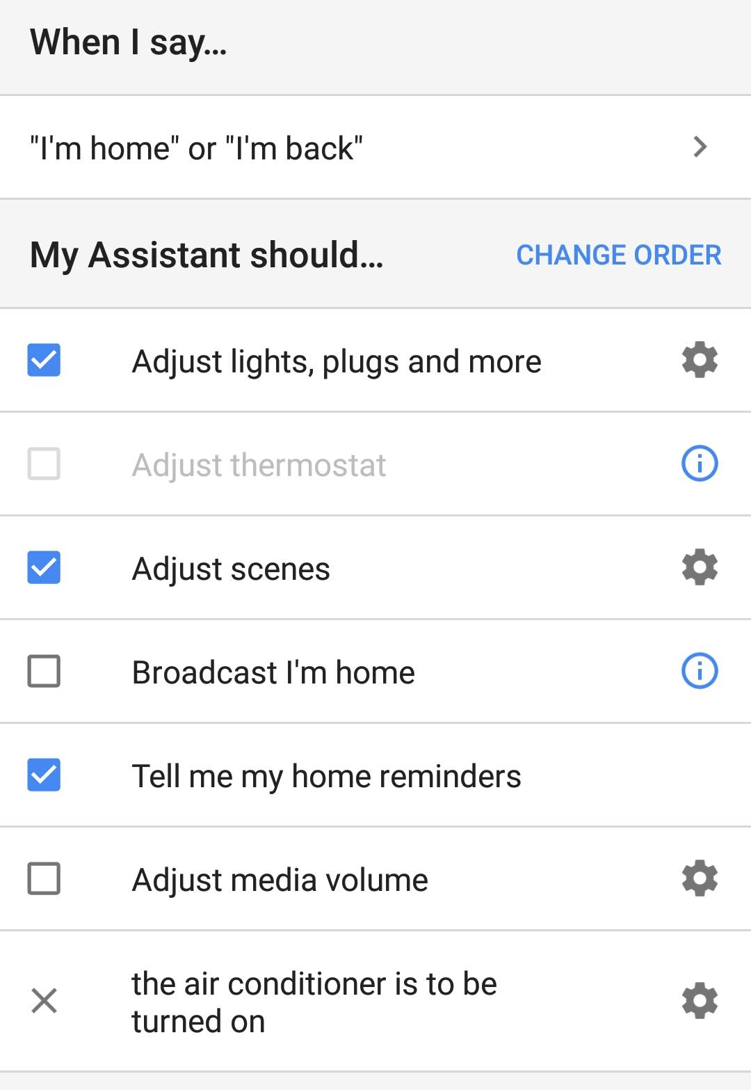Remotely turning on my air conditioner through Google Assistant
