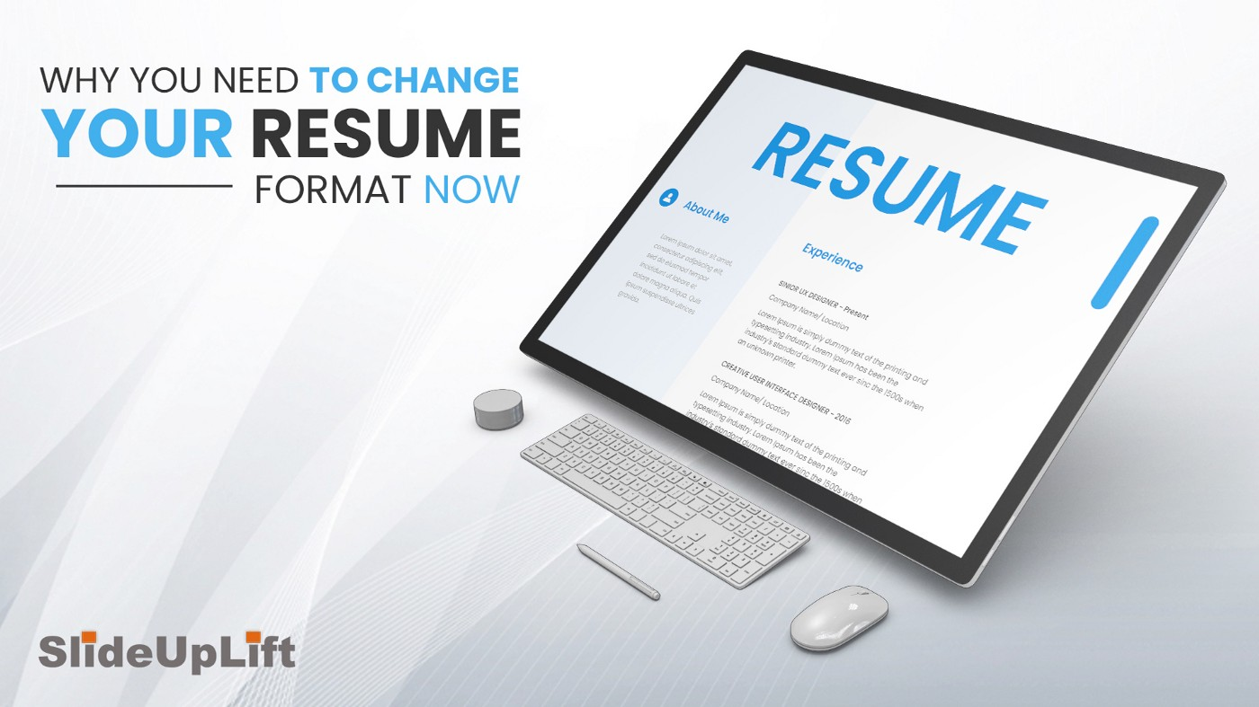 Why You Need to Change Your Resume Format Now Plus Modern Resume Format Templates