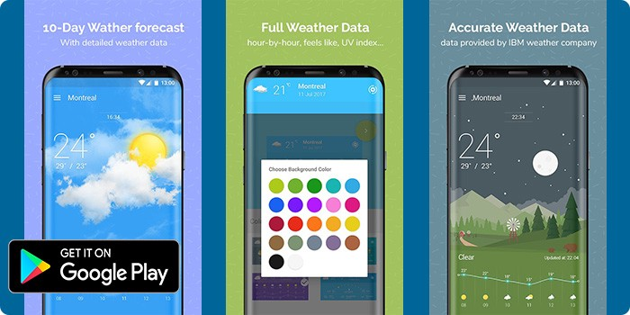 10 Best Weather Apps And Weather Widgets For Android 2017