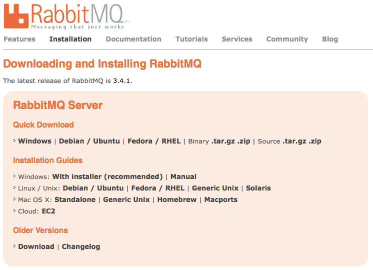 Using RabbitMQ and AMQP for Distributed Work Queues in Node js