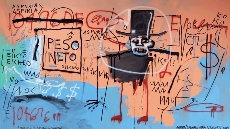 Christie's to auction two monumental paintings by Basquiat