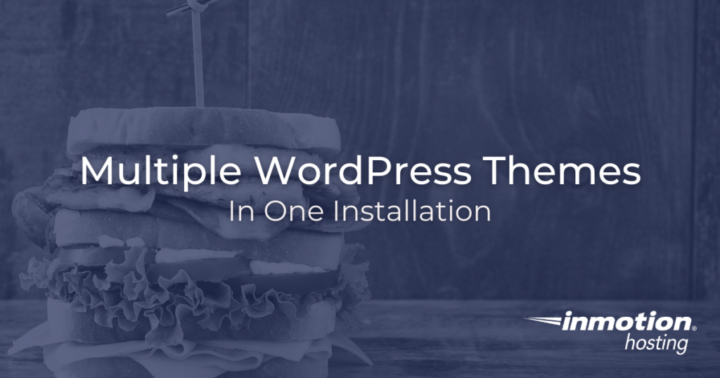 Can you have two themes in one WordPress installation?