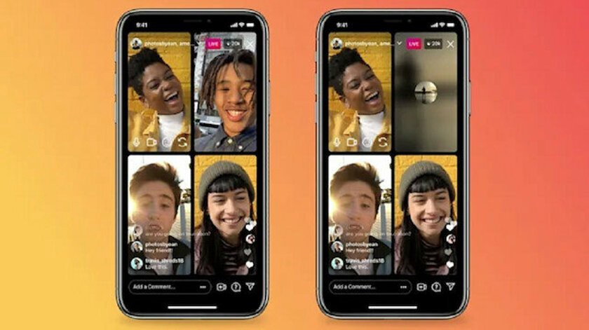 Instagram announces the ability to turn off the camera in live streams