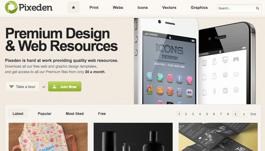 10 Amazing Sites to Get Free Mockup Templates for Designers