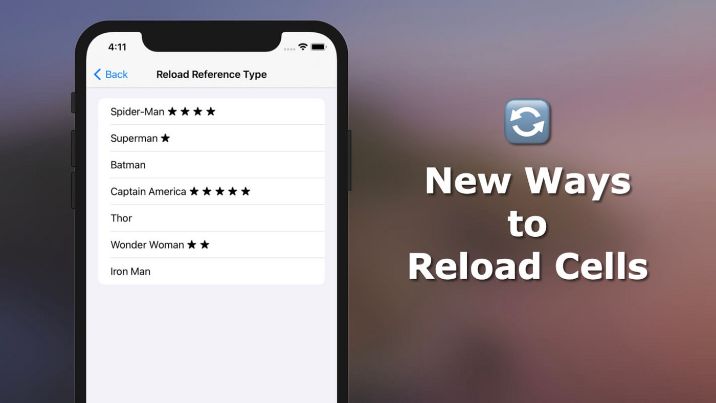 The Modern Ways to Reload Your Table and Collection View Cells