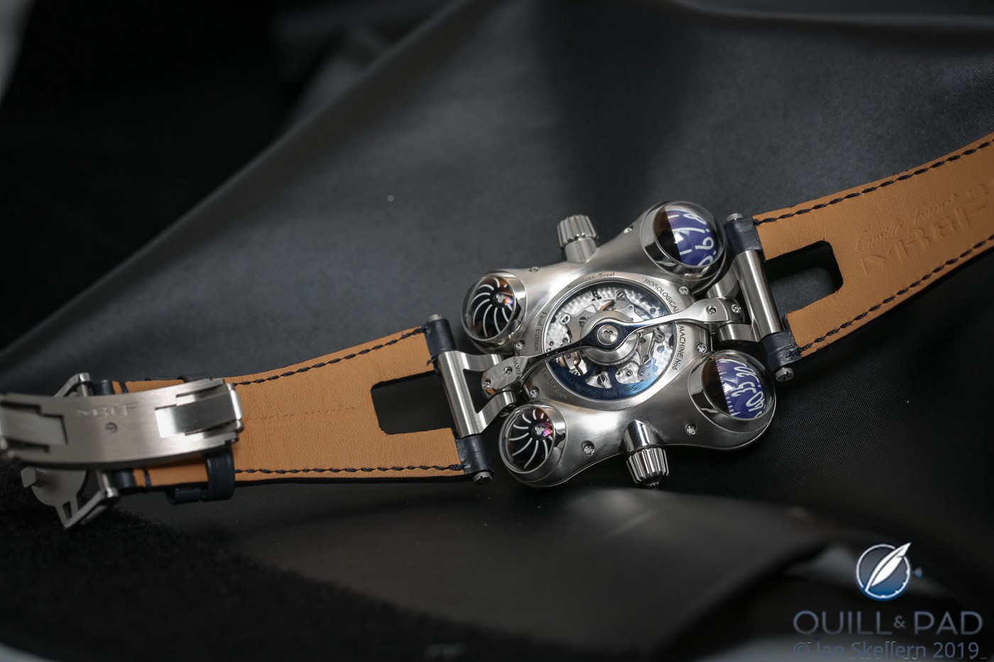 View of the back of the MB&F HM6 Final Edition