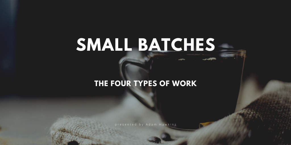 The Four Types of Work cover