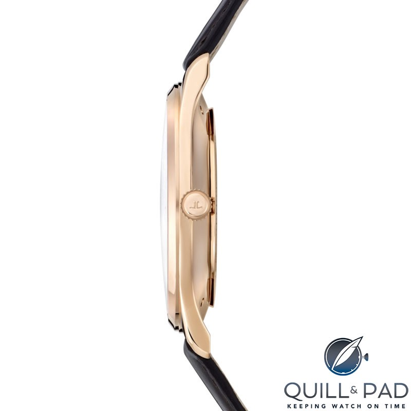 Jaeger-LeCoultre Master Ultra Thin Small Second side on