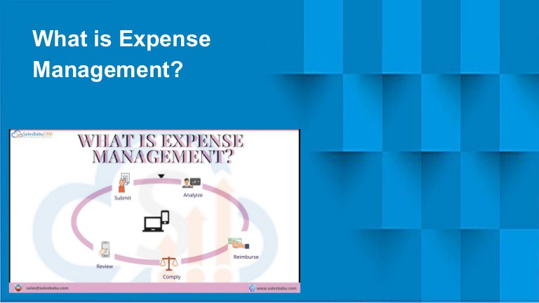 What is expense management?