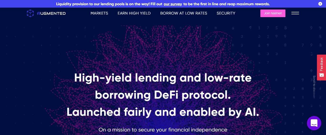 Augmented Finance Airdrop Review: High-yield lending and low-rate 0