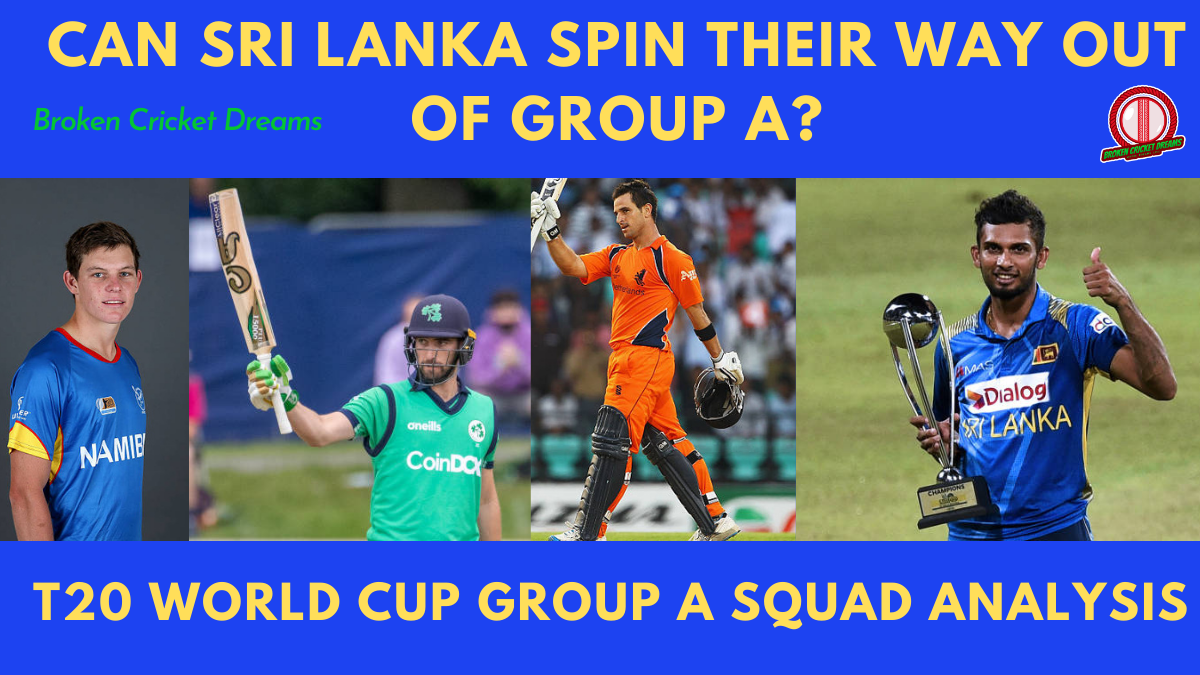 Group A 2021 T20 World Cup Squads Dissected: Ireland, Namibia, Netherlands, Sri Lanka—Can Sri Lanka Spin Their Way Out of Trouble?