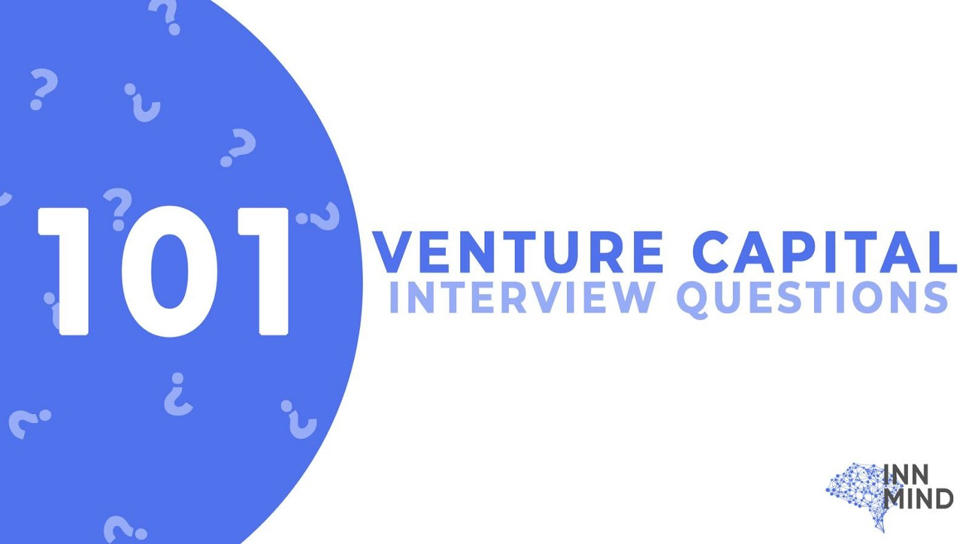 101 venture capital interview questions by innmind.com