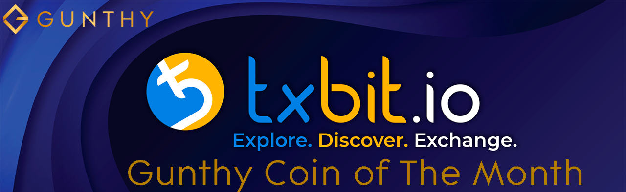 Gunthy - Coin of the Month at txbit