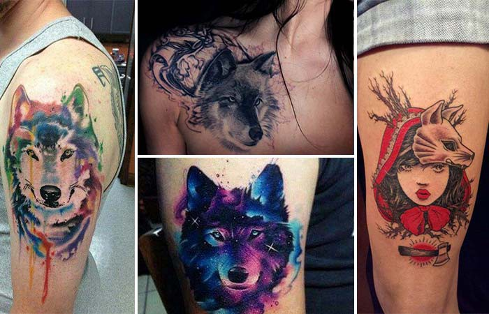 Symbol Of The Strong Character Wolf Tattoos And Meanings