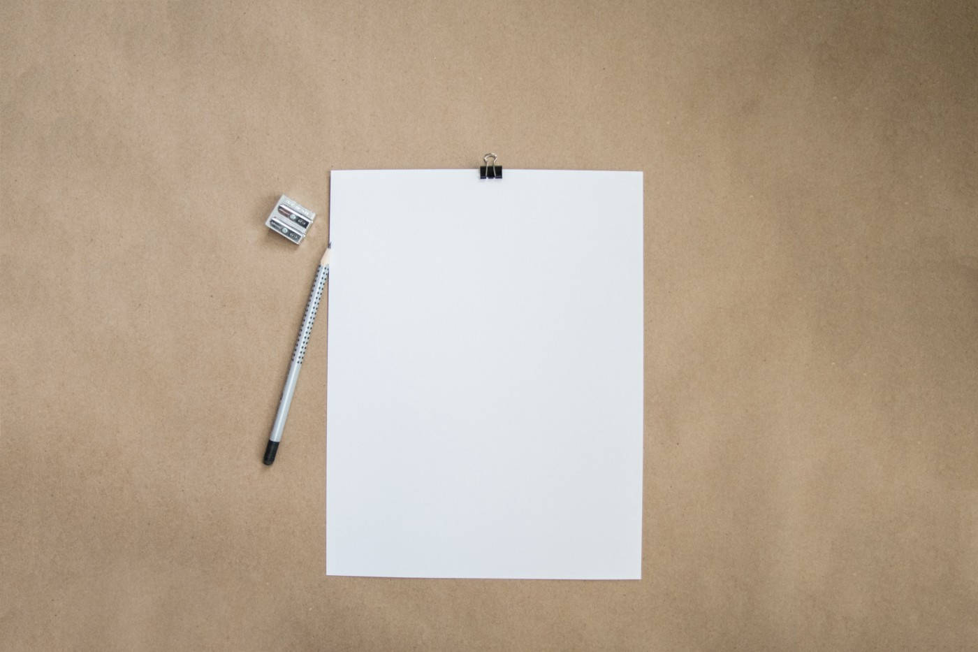 A black piece of paper, a.k.a, a writer's best friend and their worst enemy.