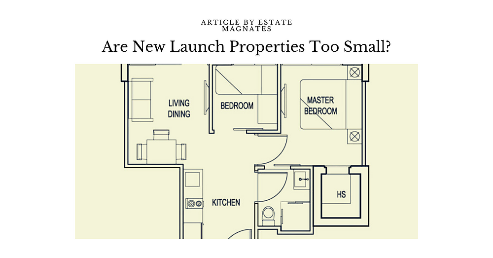 Are New Launch Properties Too Small?