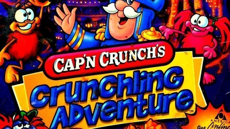 Captain Crunch game title card