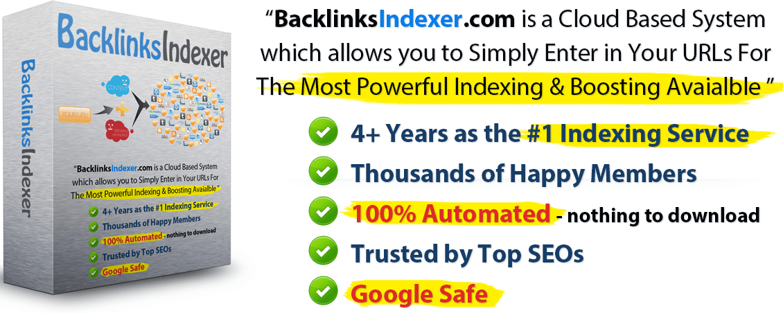 Make your backlinks 100X more powerful and rank higher in Google.