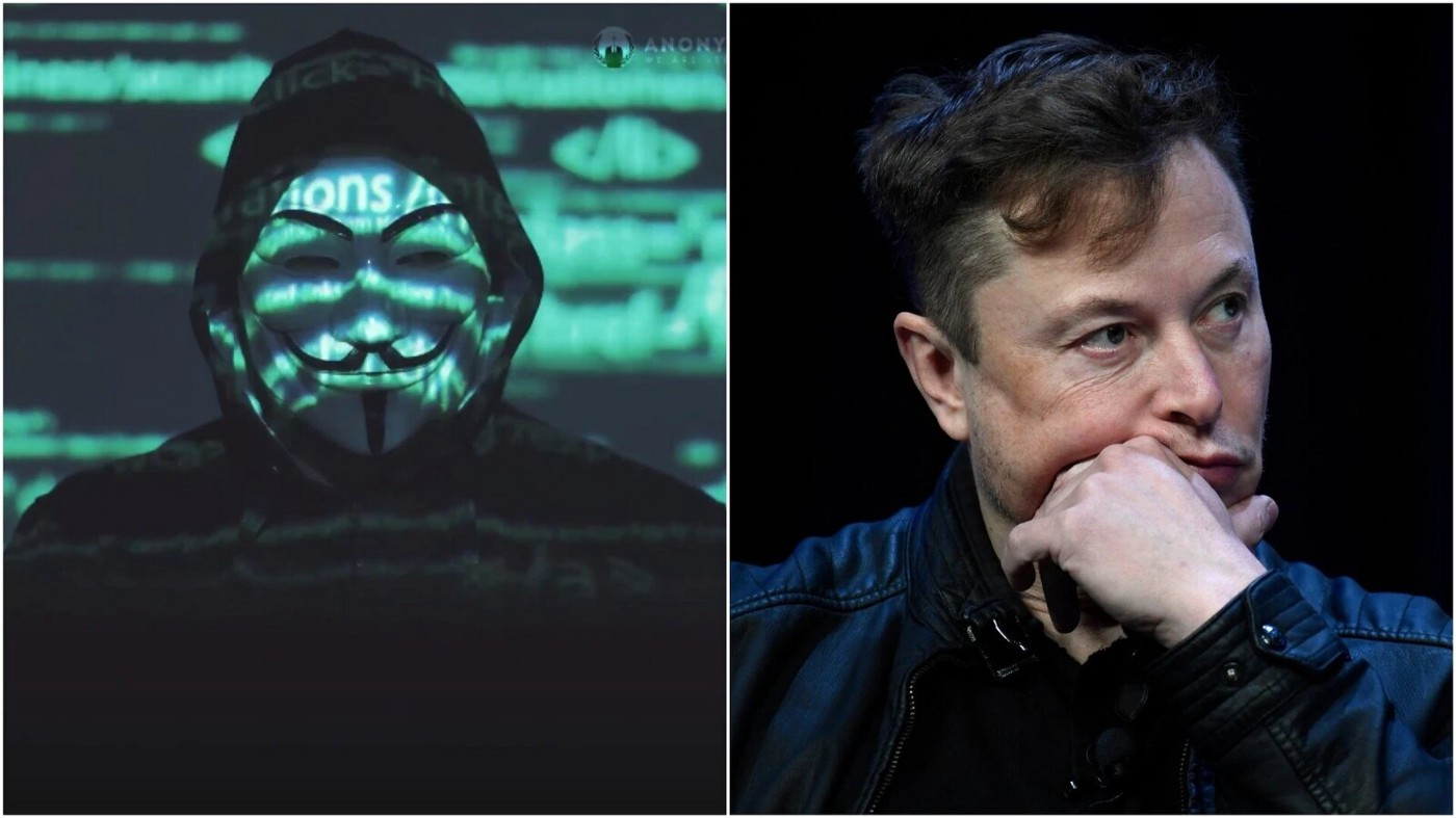 Why Anonymous Threatens Tesla Owner Elon Musk