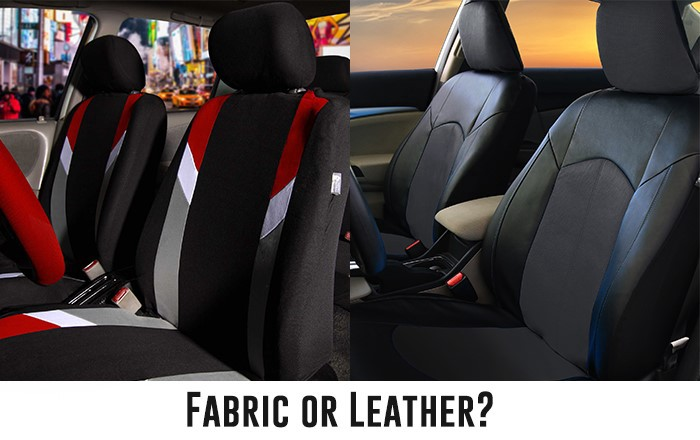 What Material Seat Cover Is Better Fabric Or Leather By Fh Group Auto Medium