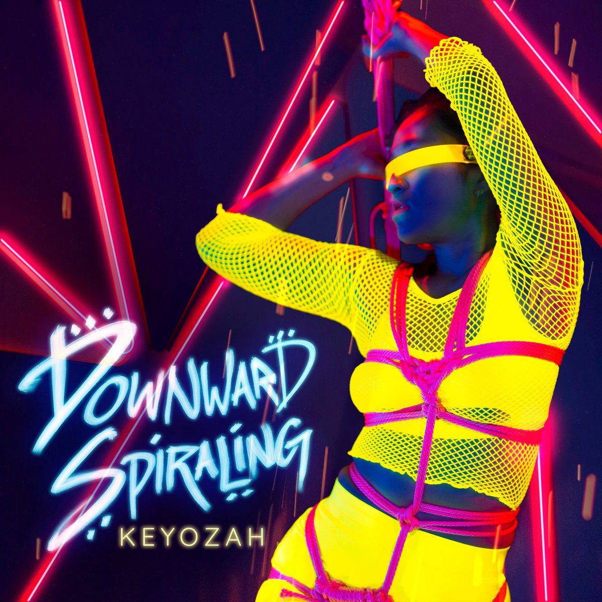 Bay area electropop act Keyozah returns with an all new video / single: 'Downward Spiraling'