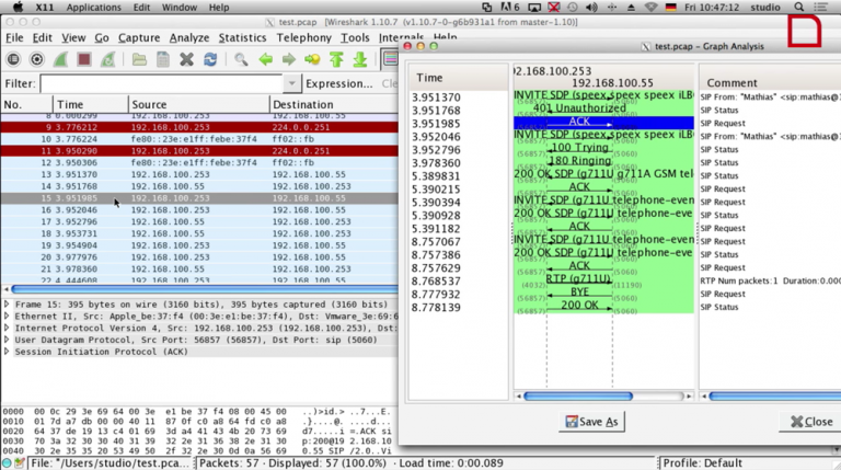 Wireshark Filter Sip And Rtp