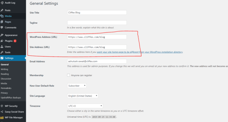 Setting to configure URL preferences on your website