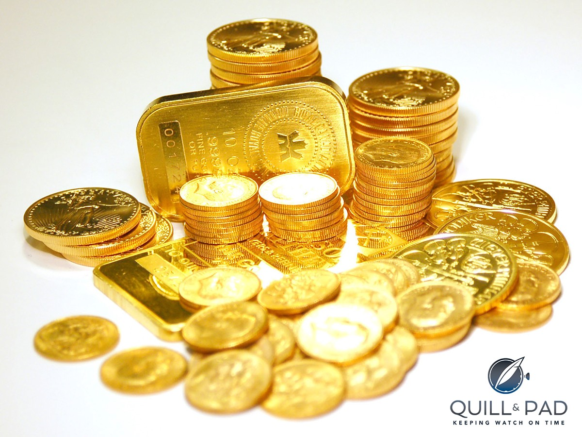 All gold on earth came from outer space