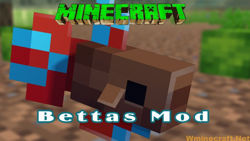 Download Bettas Mod 1.16.4 for Minecraft—Adds a new type of fish