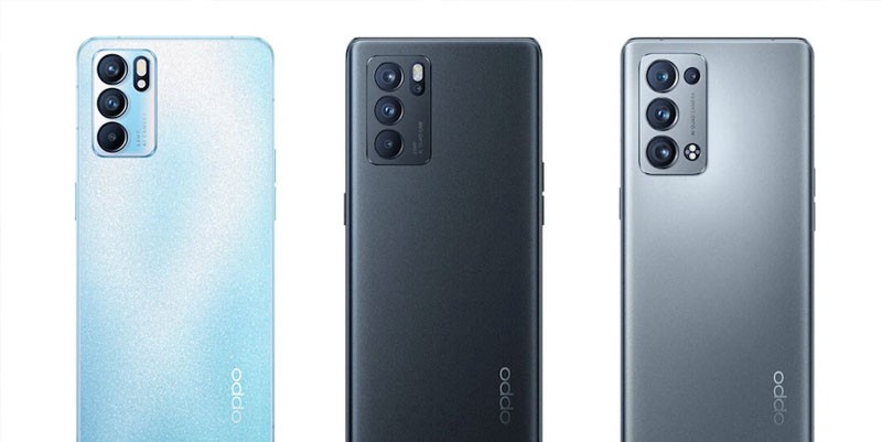 Oppo Reno 6 Series Launched: Dimensity SoCs, 65W Charging & 5G