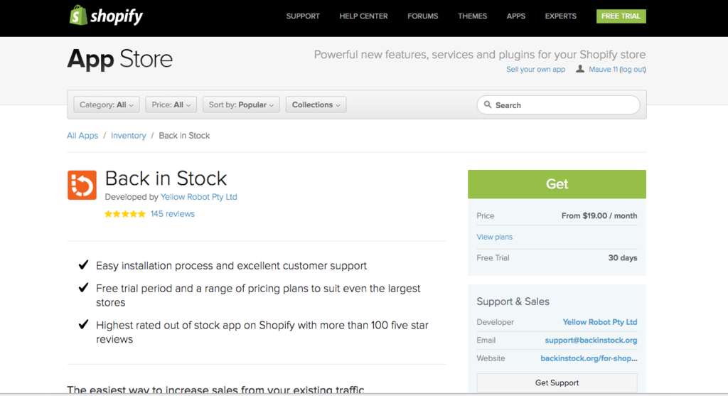How To: Add Back in Stock Notifications to Shopify - Growth Spark