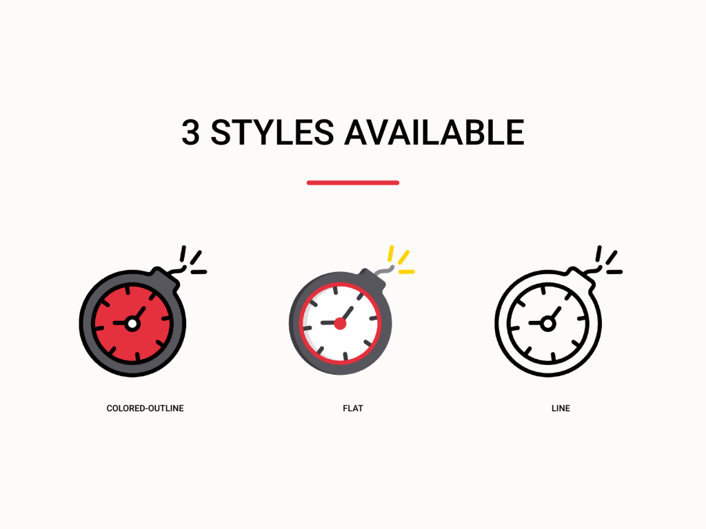 3 styles available