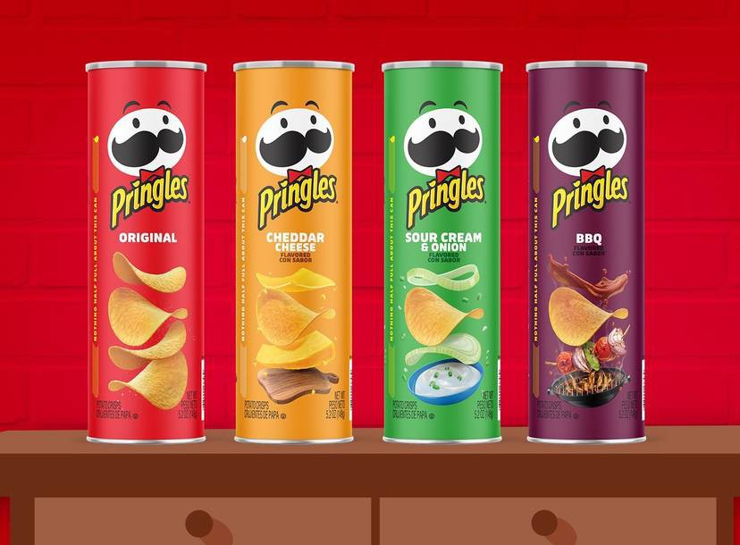 Pringles can redesigns
