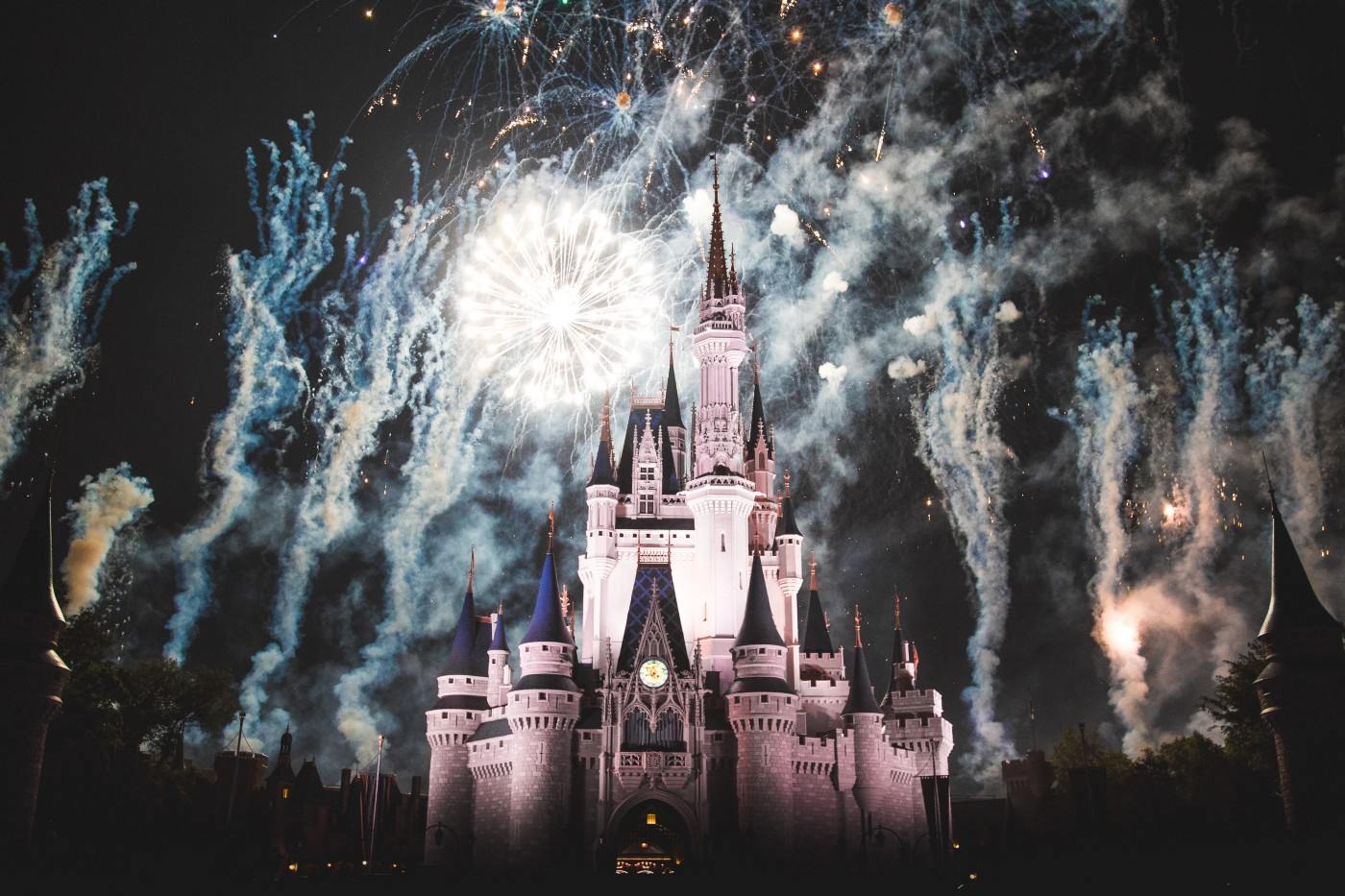 Image of fireworks at Magic Kingdom