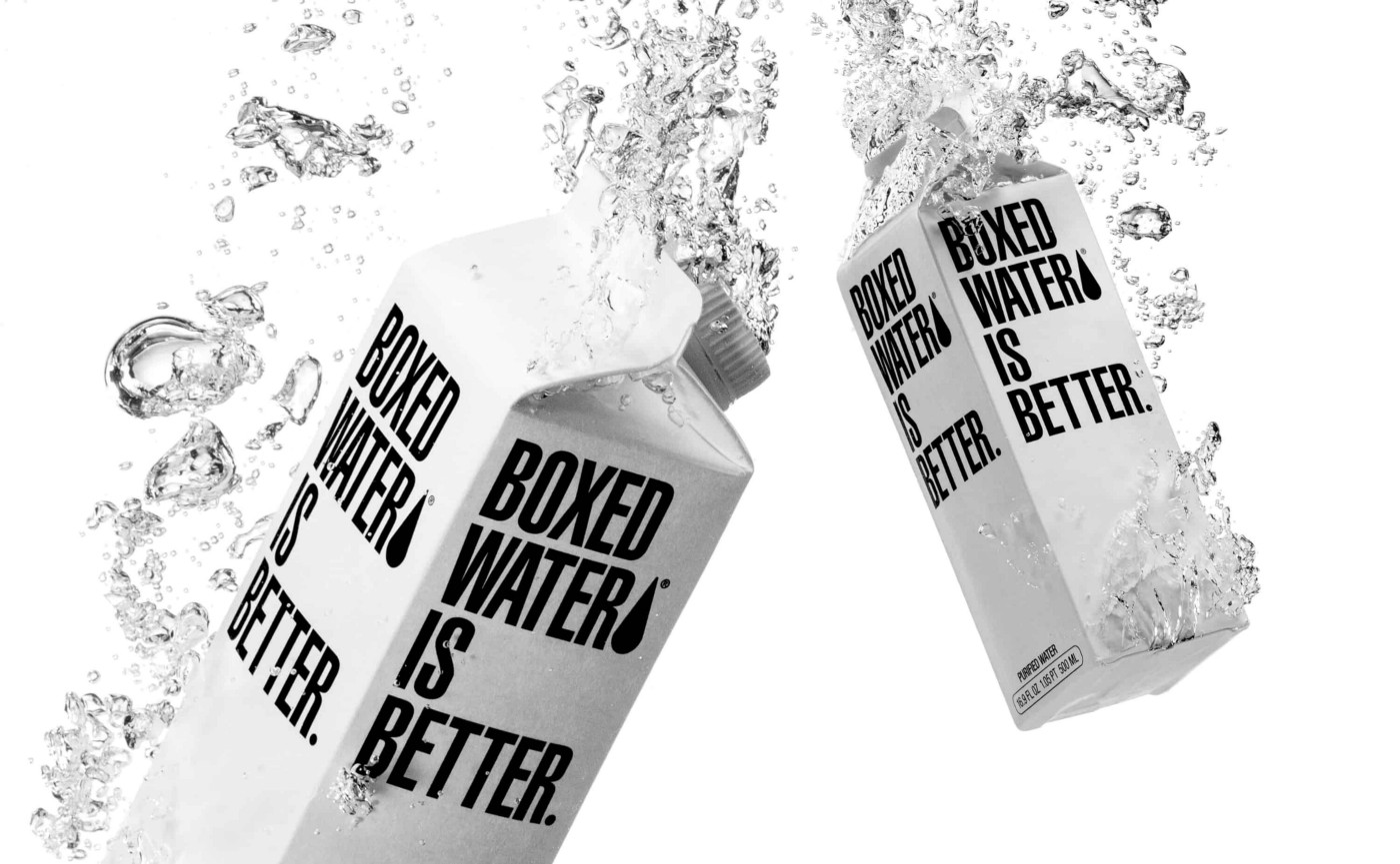 """Boxed Water Is Better."" The problem it solves is in its name."