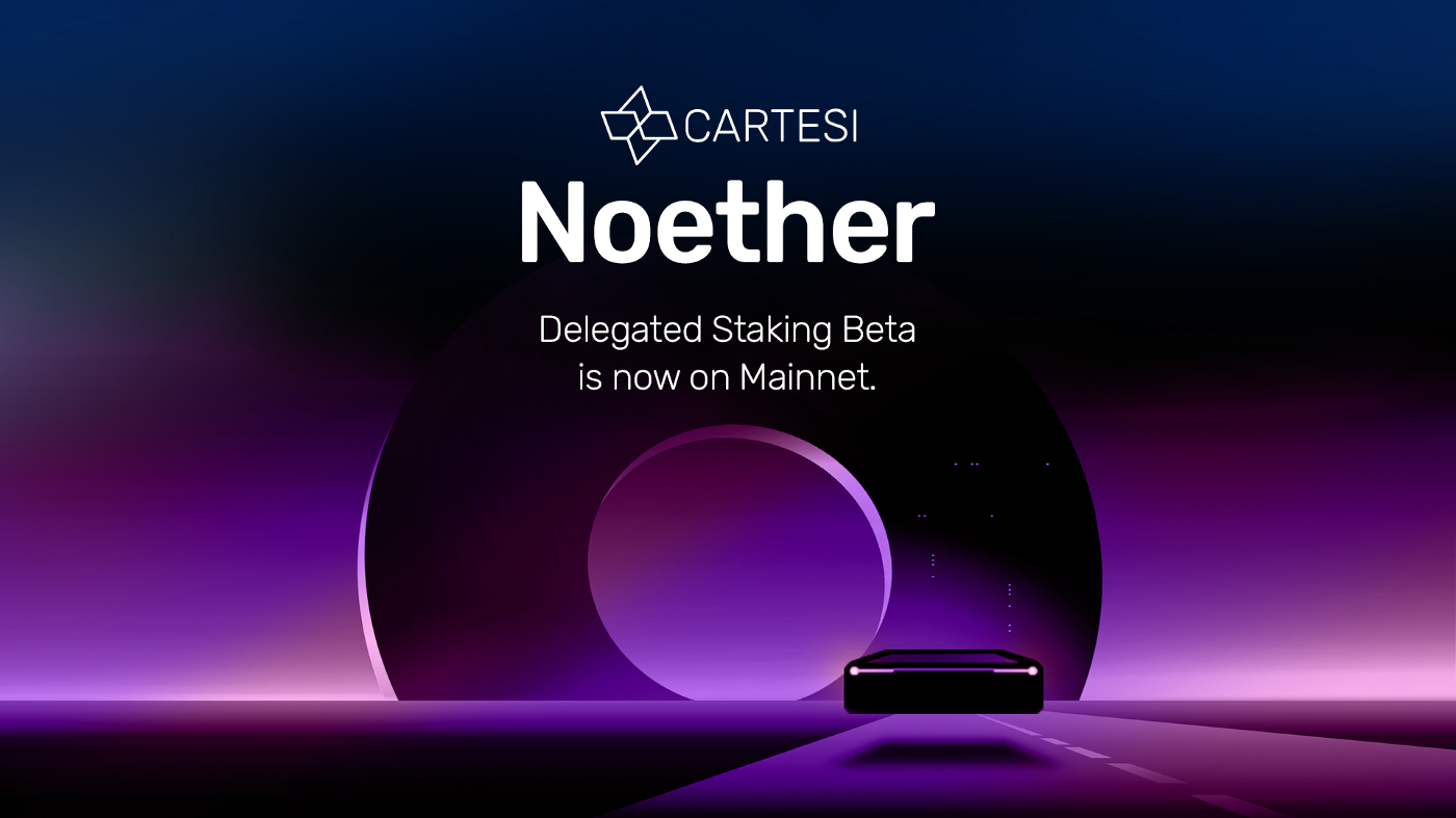 0*HIJ4 MsYIB4upSh7 Noether's Staking Delegation Mainnet Beta is Now Live!
