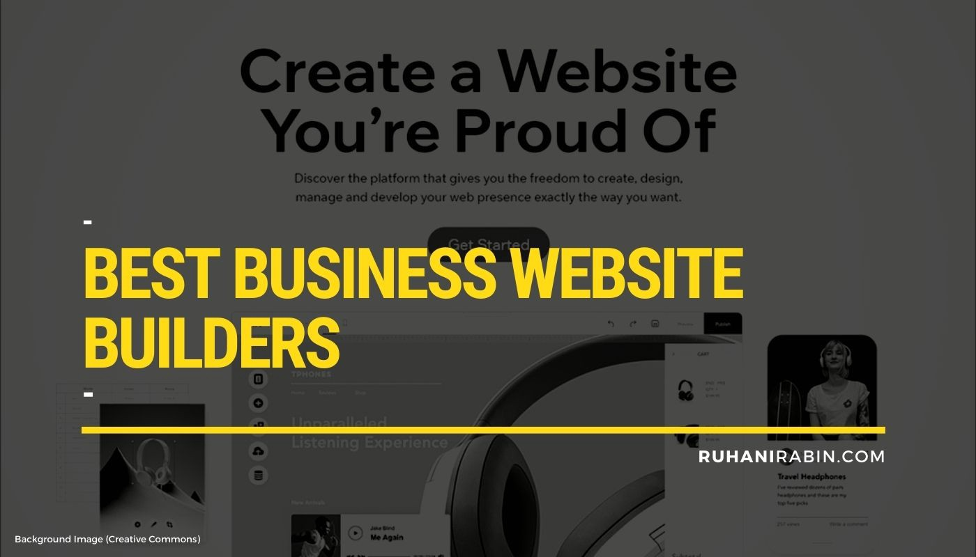 10 Best Business Website Builders that Work in 2021 Featured Image