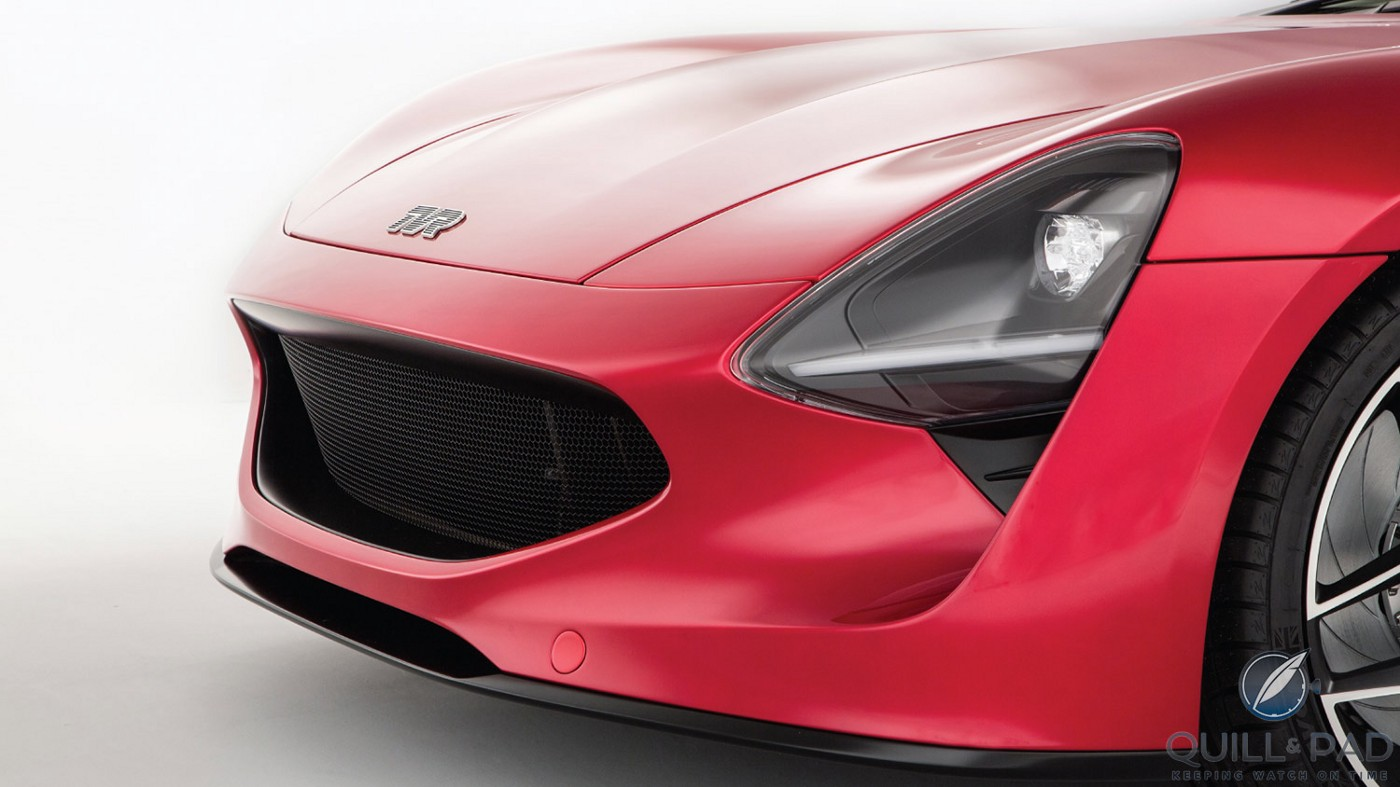 Front of the 2018 TVR Griffith